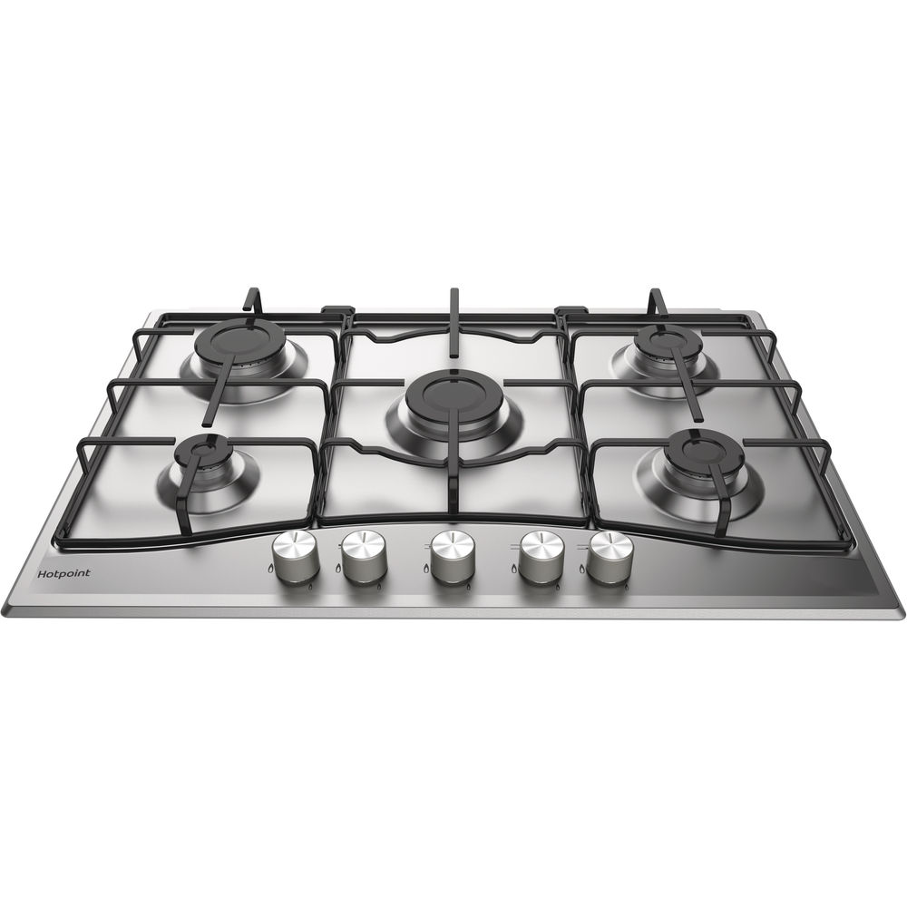 Hotpoint PCN 752 UIXH Gas Hob - Stainless Steel