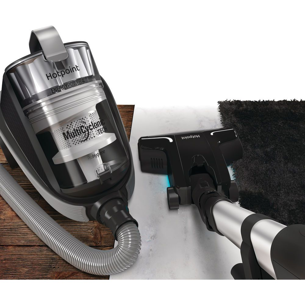 Hotpoint Ultimate Collection SL M07 A4H B Multi-Cyclonic Cylinder Vacuum Cleaner