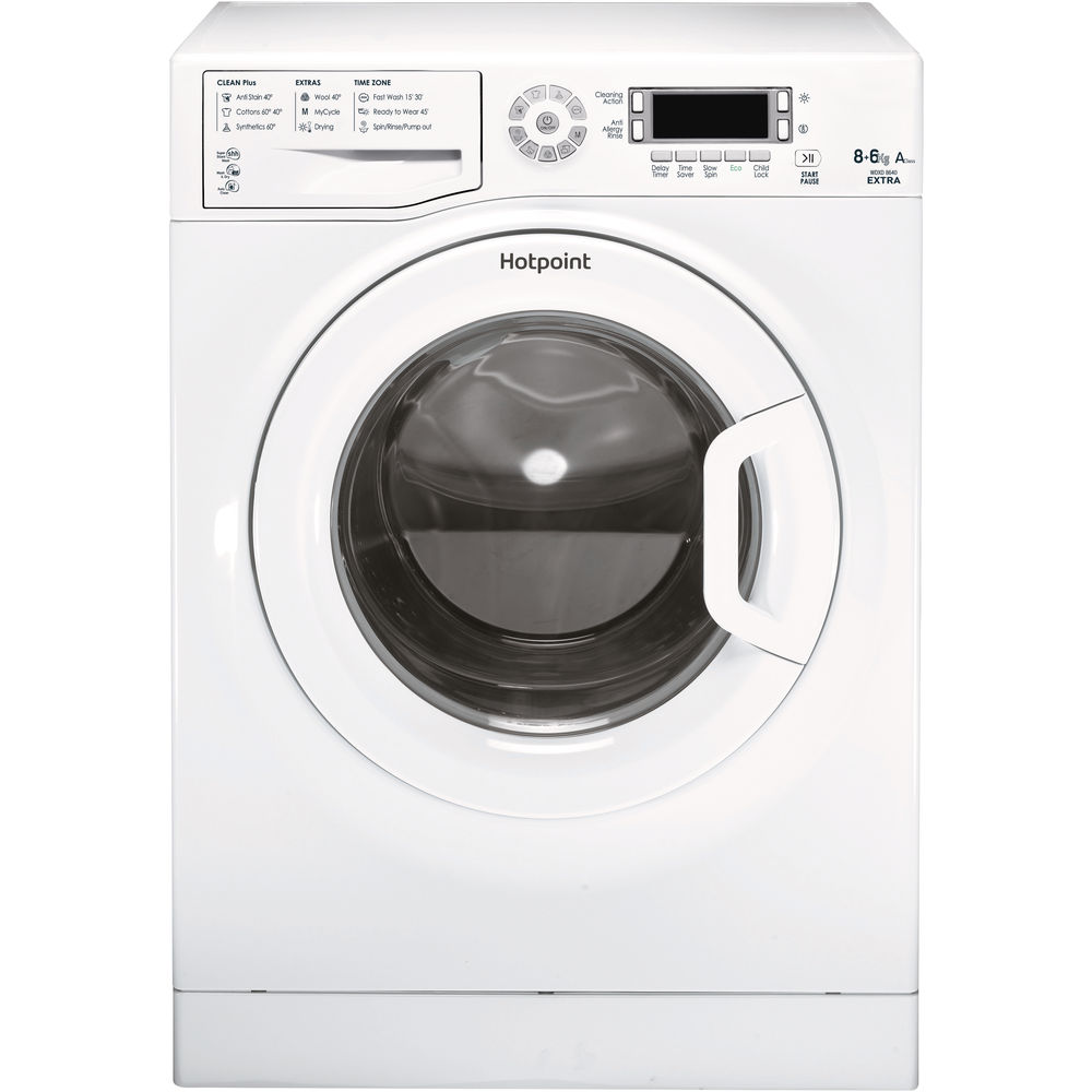 Hotpoint Aquarius WDXD 8640P Washer Dryer - White