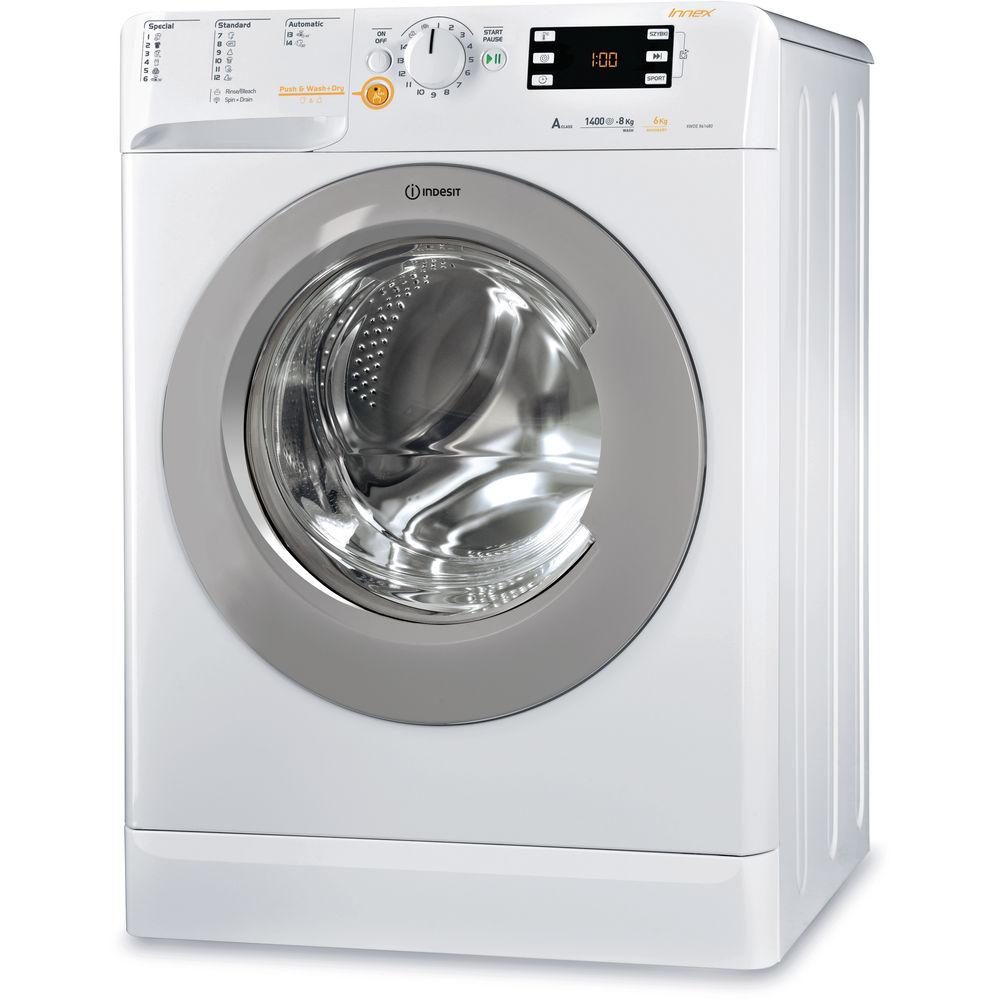 4edf4ee630e22 Lavante-séchante posable Indesit   8 kg - XWDE 861480X WSSS EU