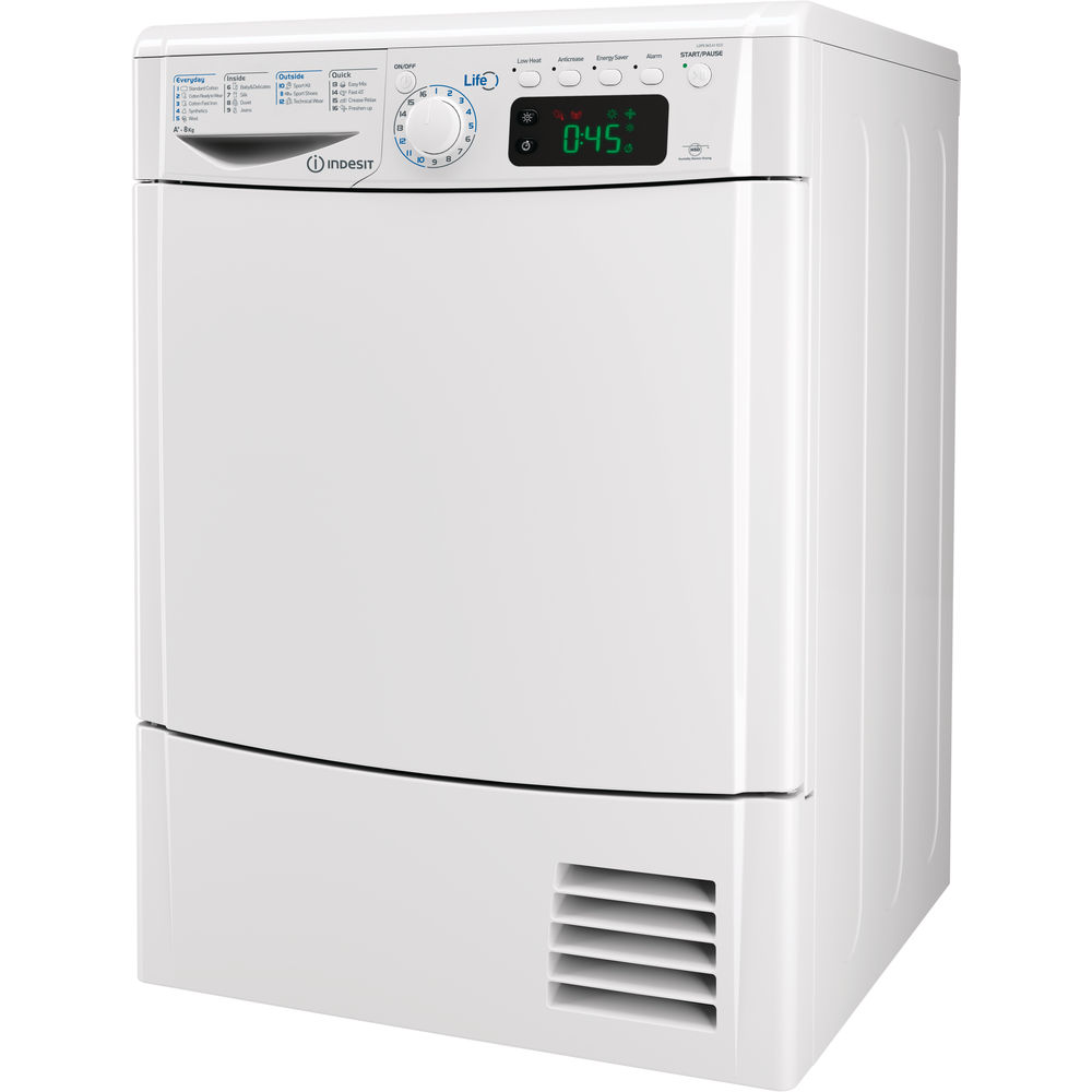 Indesit LDPE 845 A1 ECO Tumble Dryer in White