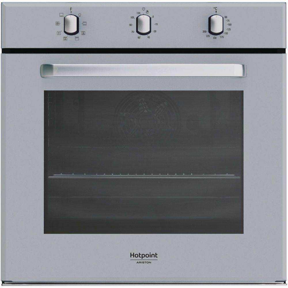 Forno elettrico incasso Hotpoint: colore argento, autopulente