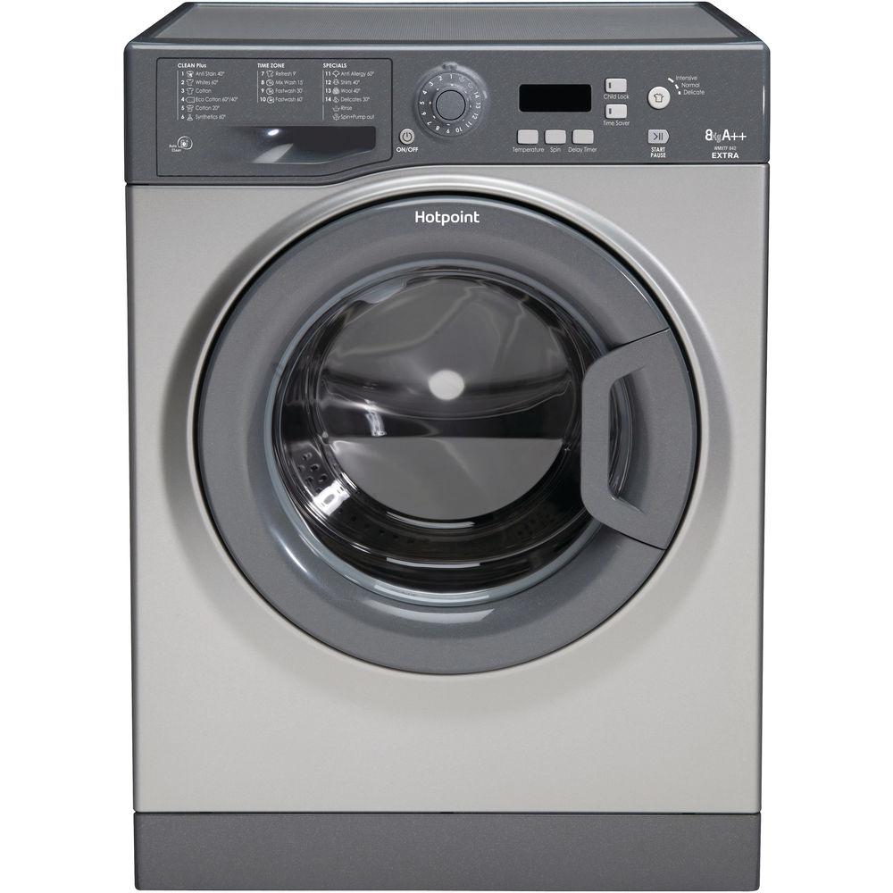 Hotpoint Extra WMXTF 842G .R Washing Machine - Graphite