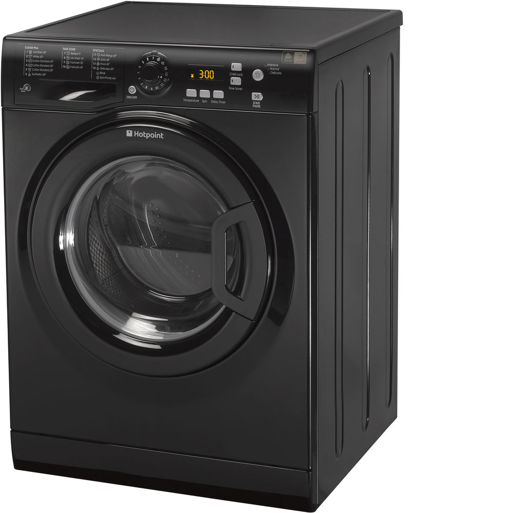 Hotpoint Extra WMXTF 942K .R Washing Machine - Black