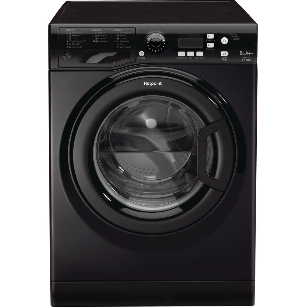 Hotpoint Extra WMXTF 842K .R Washing Machine - Black