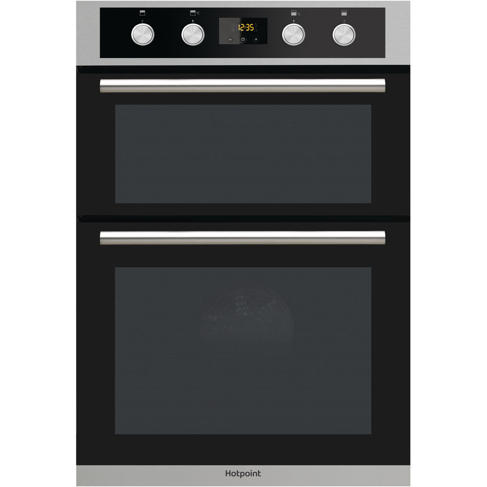 Hotpoint built in double oven: electric