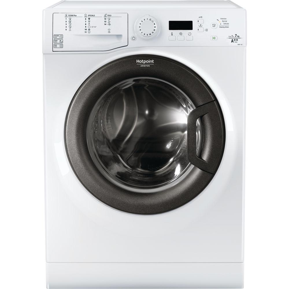 Mașina de spălat neincorporabilă cu încărcare frontală Hotpoint: 7kg