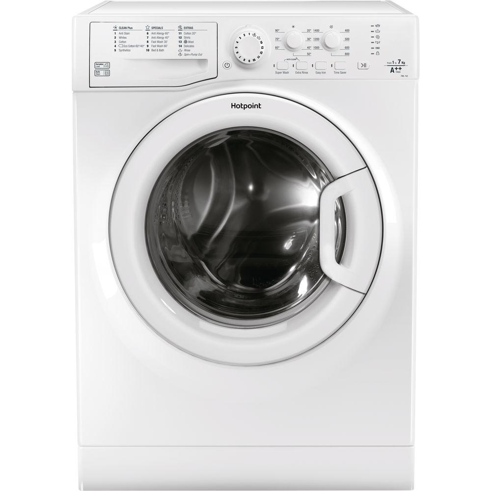Hotpoint Aquarius FML 742P Washing Machine - White