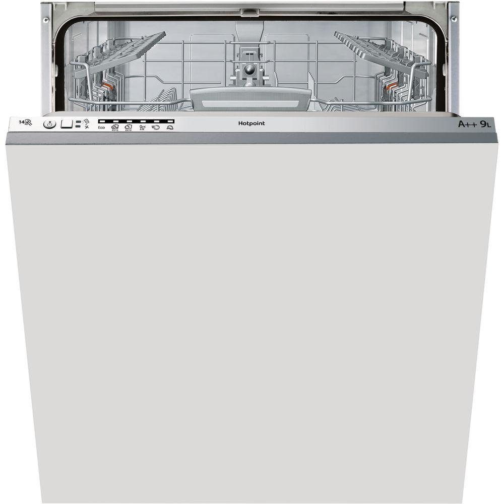 full size: Hotpoint integrated dishwasher
