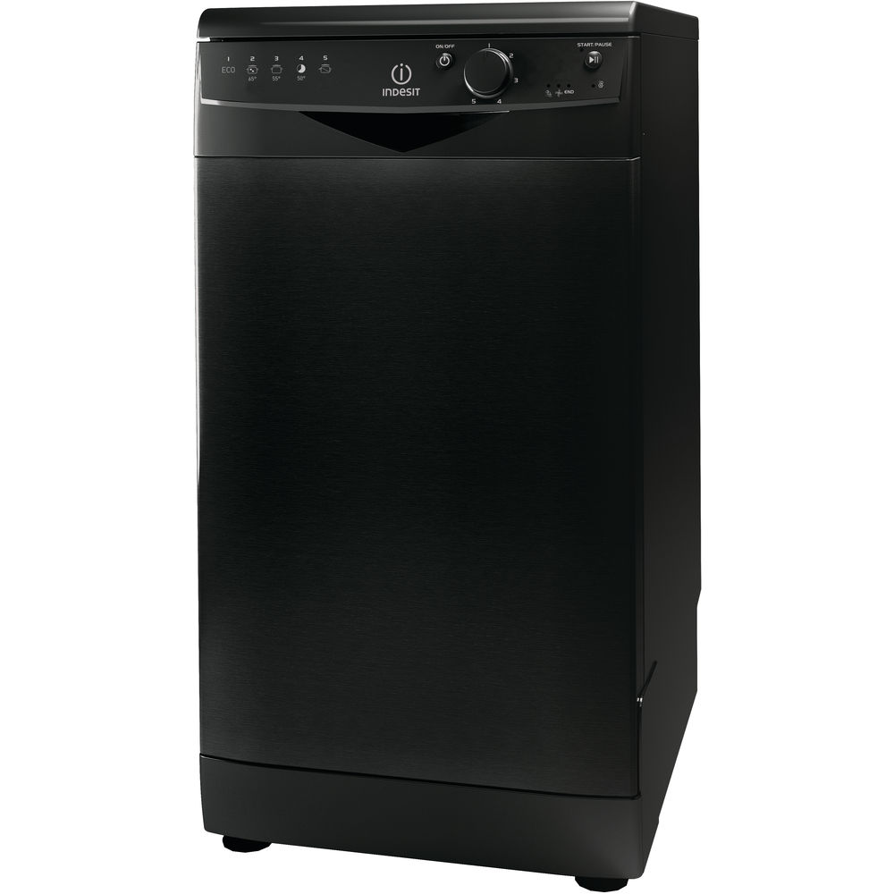 Indesit DSR 15B1 K Ecotime Dishwasher in Black