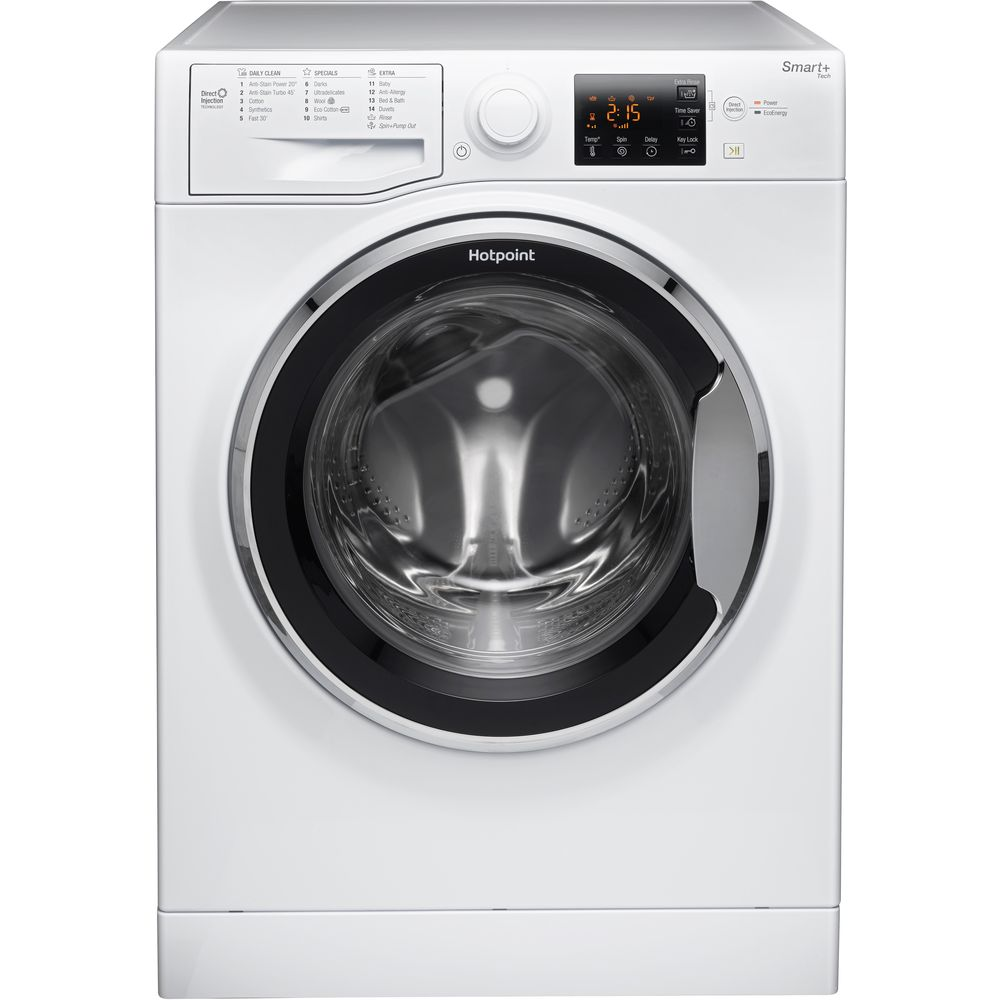 Hotpoint Smart+ RSG 964 JX Washing Machine - White