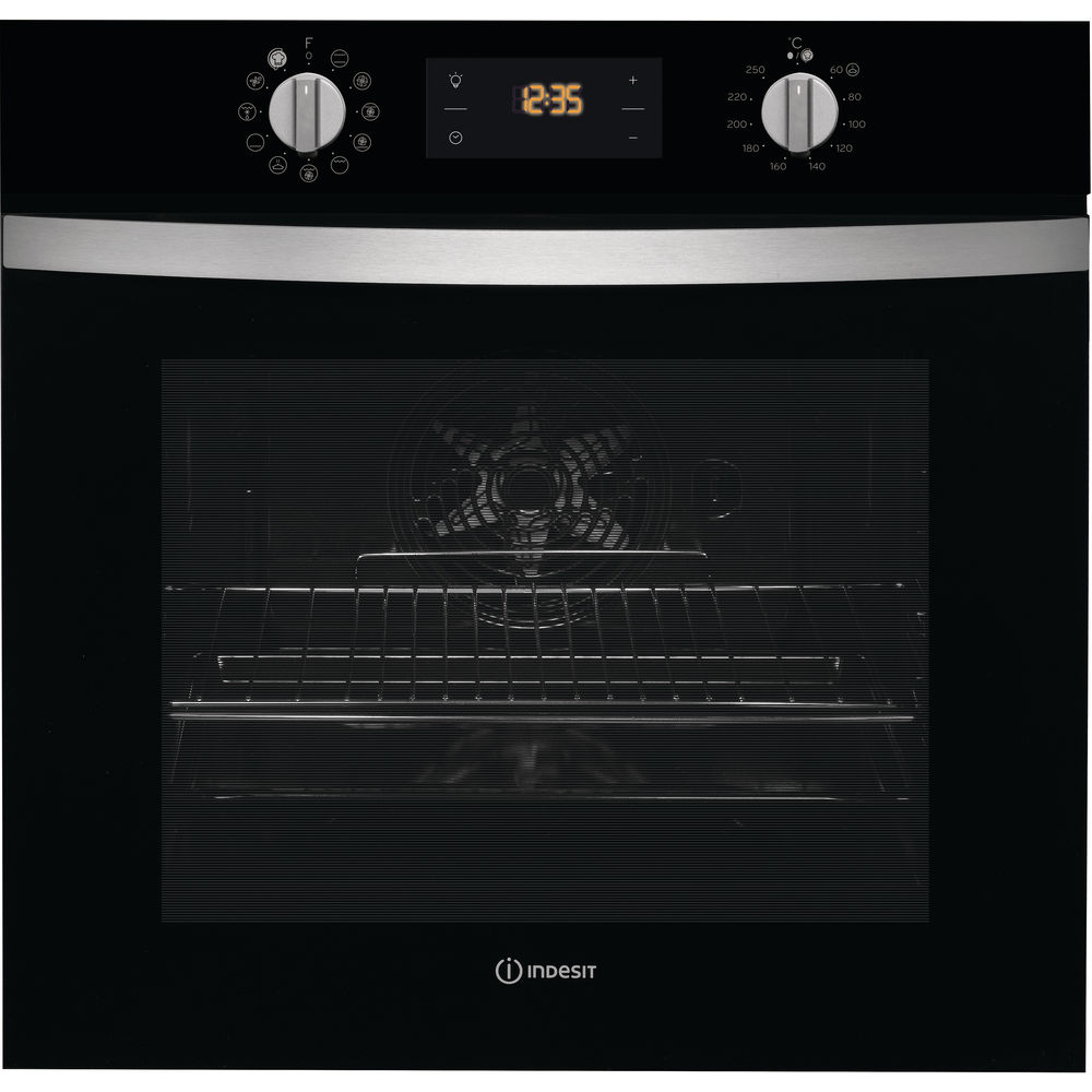Indesit IFW 4841 C BL Built-in Oven in Black