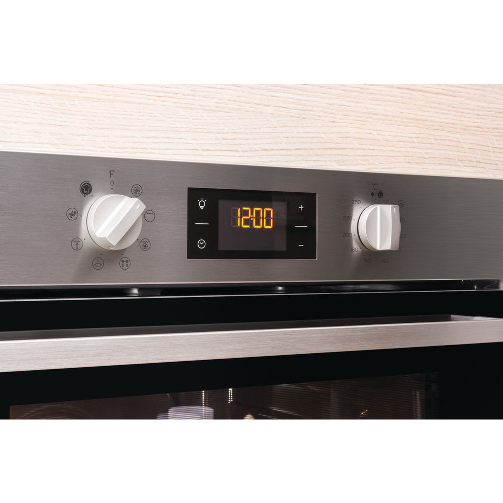 Indesit Aria IFW 6544 H IX UK Electric Single Built-in Oven in Stainless Steel