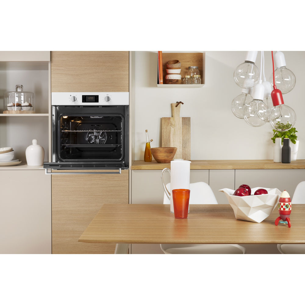 Indesit Aria IFW 6340 WH UK Electric Single Built-in Oven in White