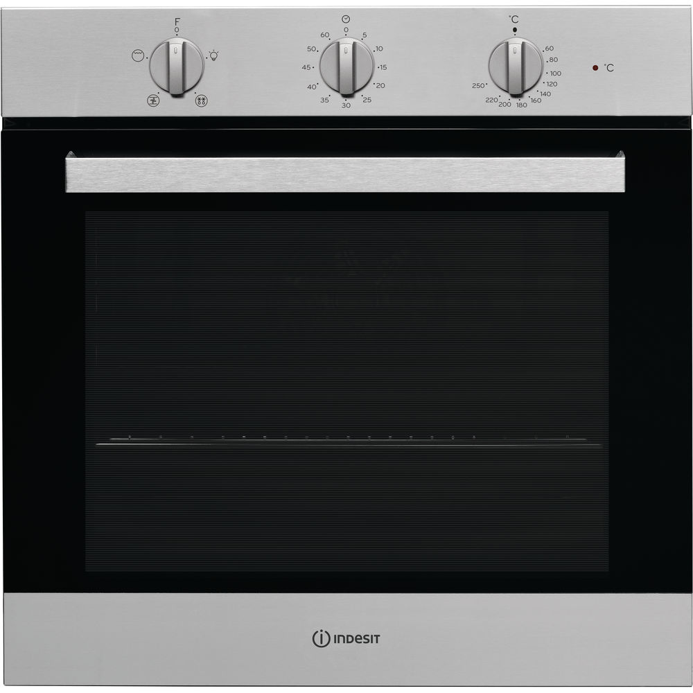 Indesit Aria IFW 6330 IX UK Electric Single Built-in Oven in Stainless Steel