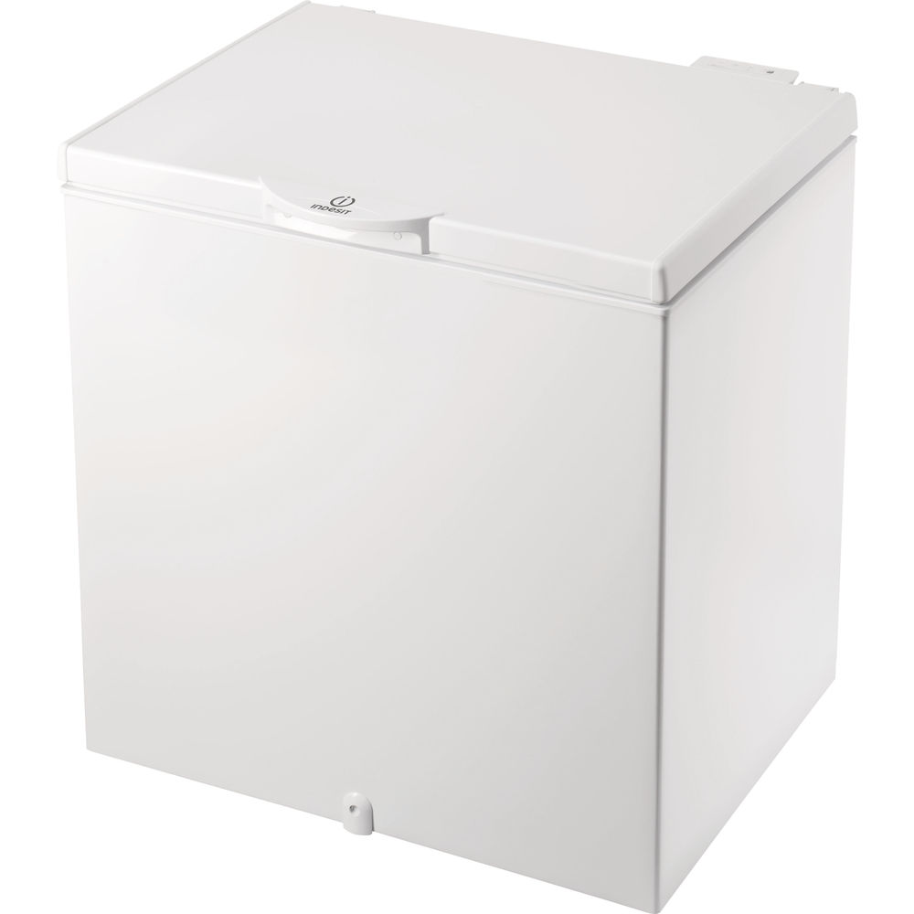 Freestanding chest freezer: white colour