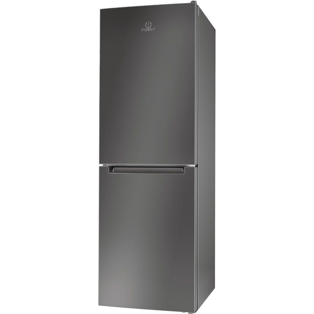 Indesit Ld70 N1 X Fridge Freezer In Stainless Steel Ld70