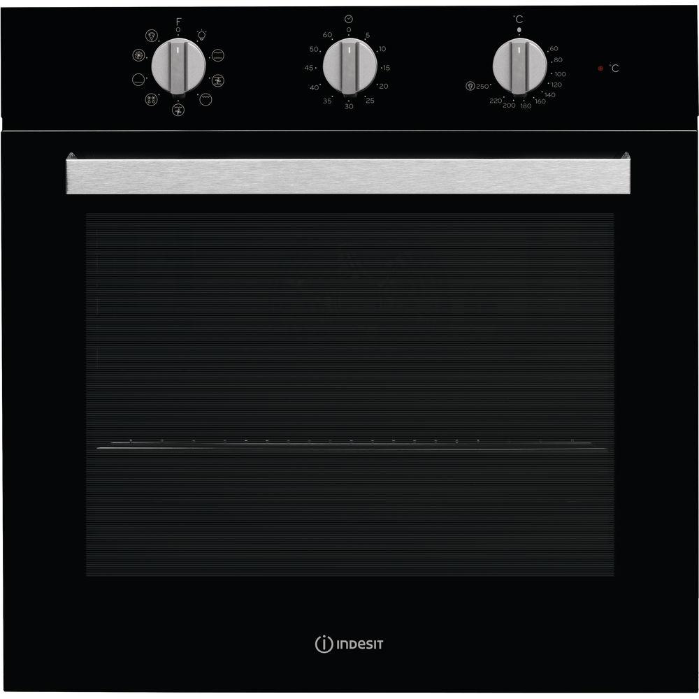 Forno elettrico incasso indesit colore nero ifw 6834 bl - Forno ad incasso ventilato ...