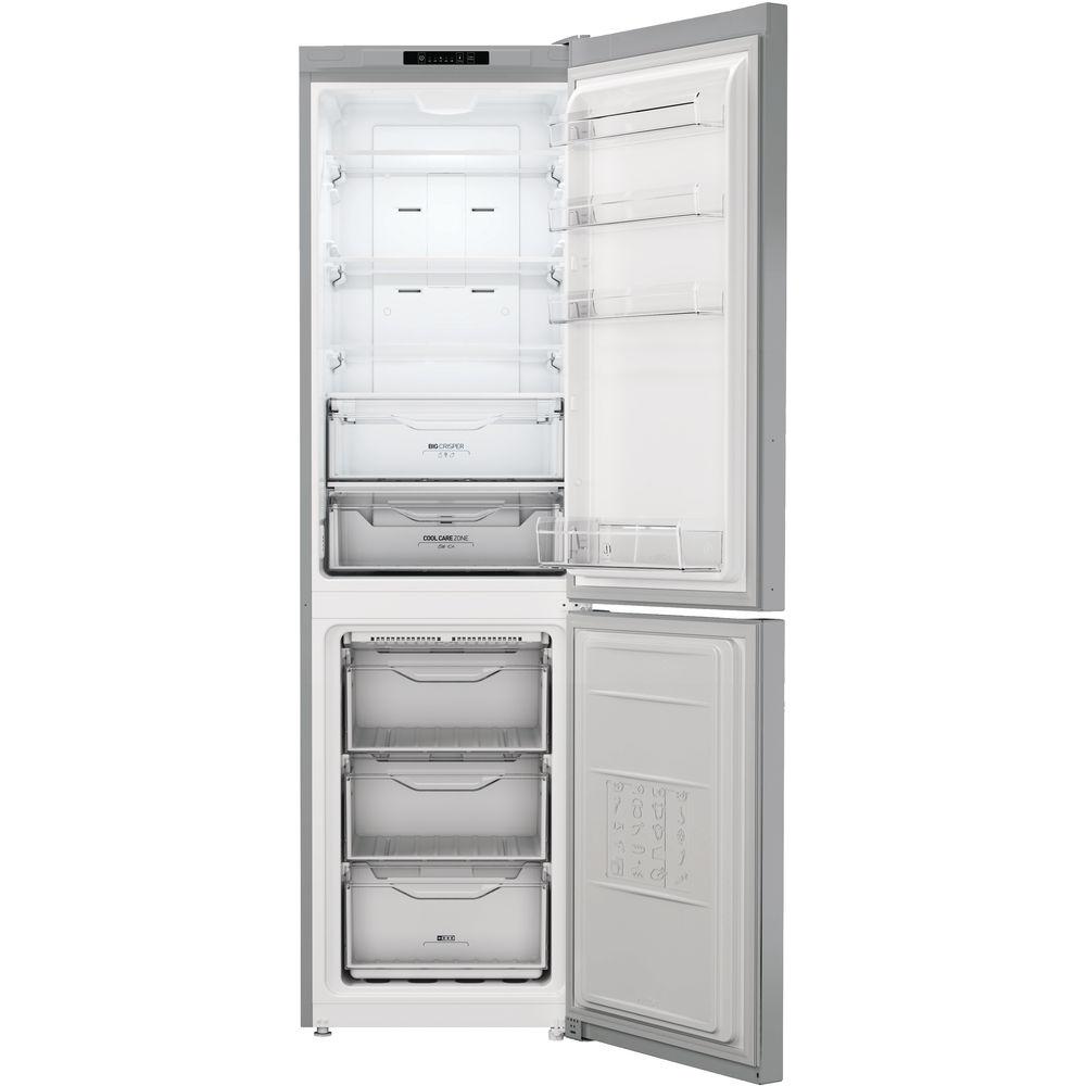 Indesit freistehender Kühlschrank mit Gefrierfach: No-Frost-Technik ...