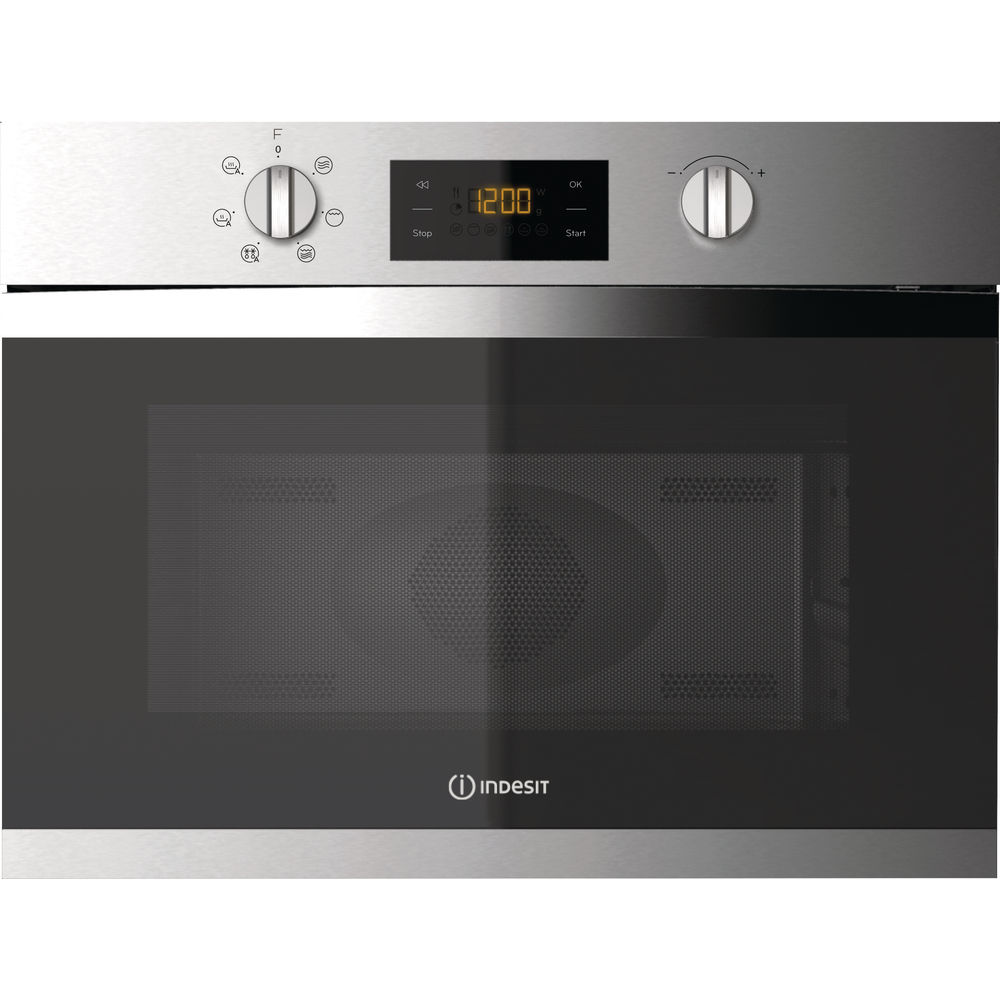 Built in microwave oven: inox colour