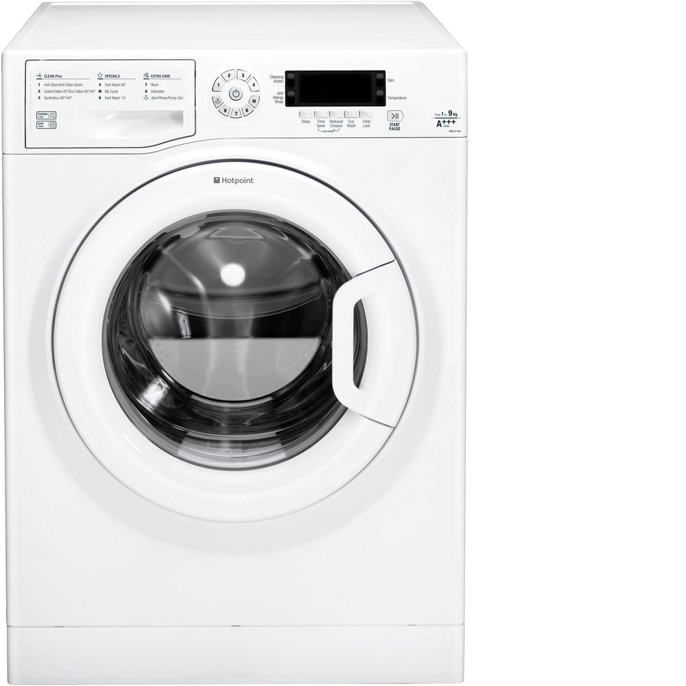 Hotpoint WMJLD 943P Washing Machine - White