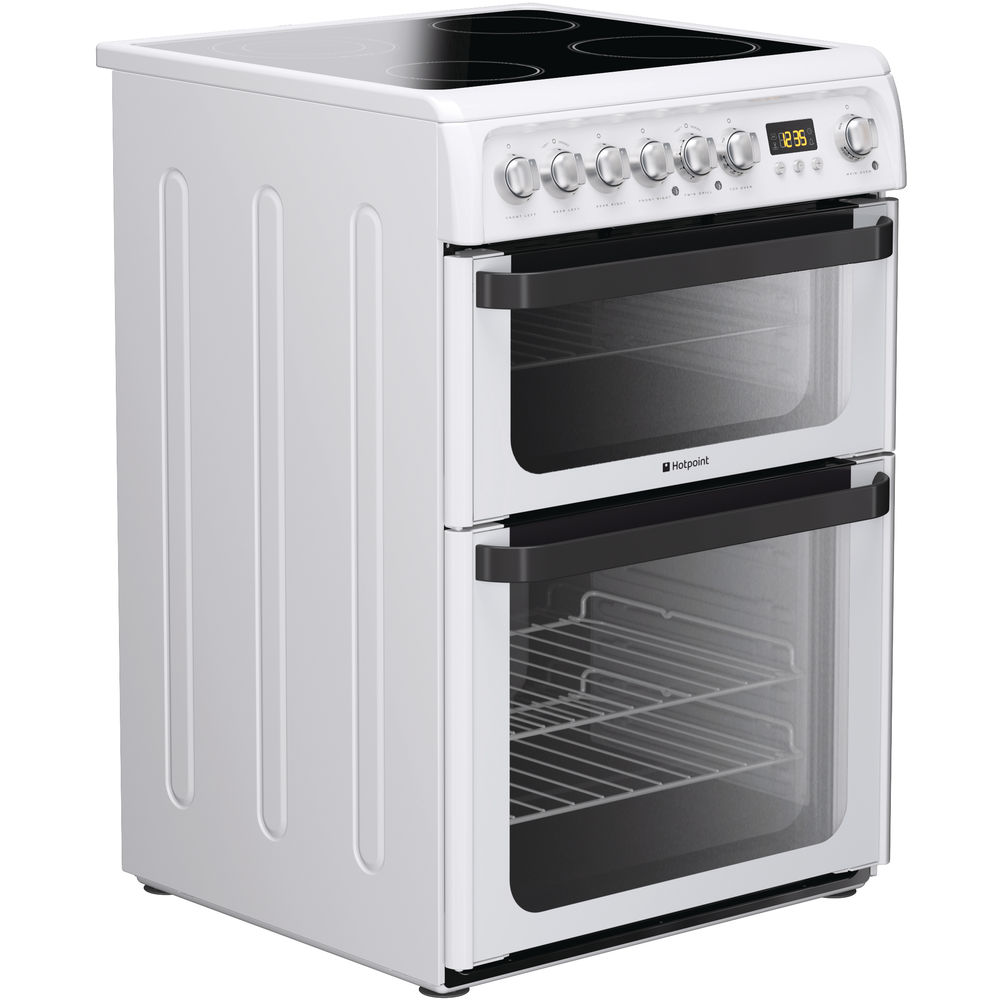 Hotpoint Signature JLE60P Cooker - White