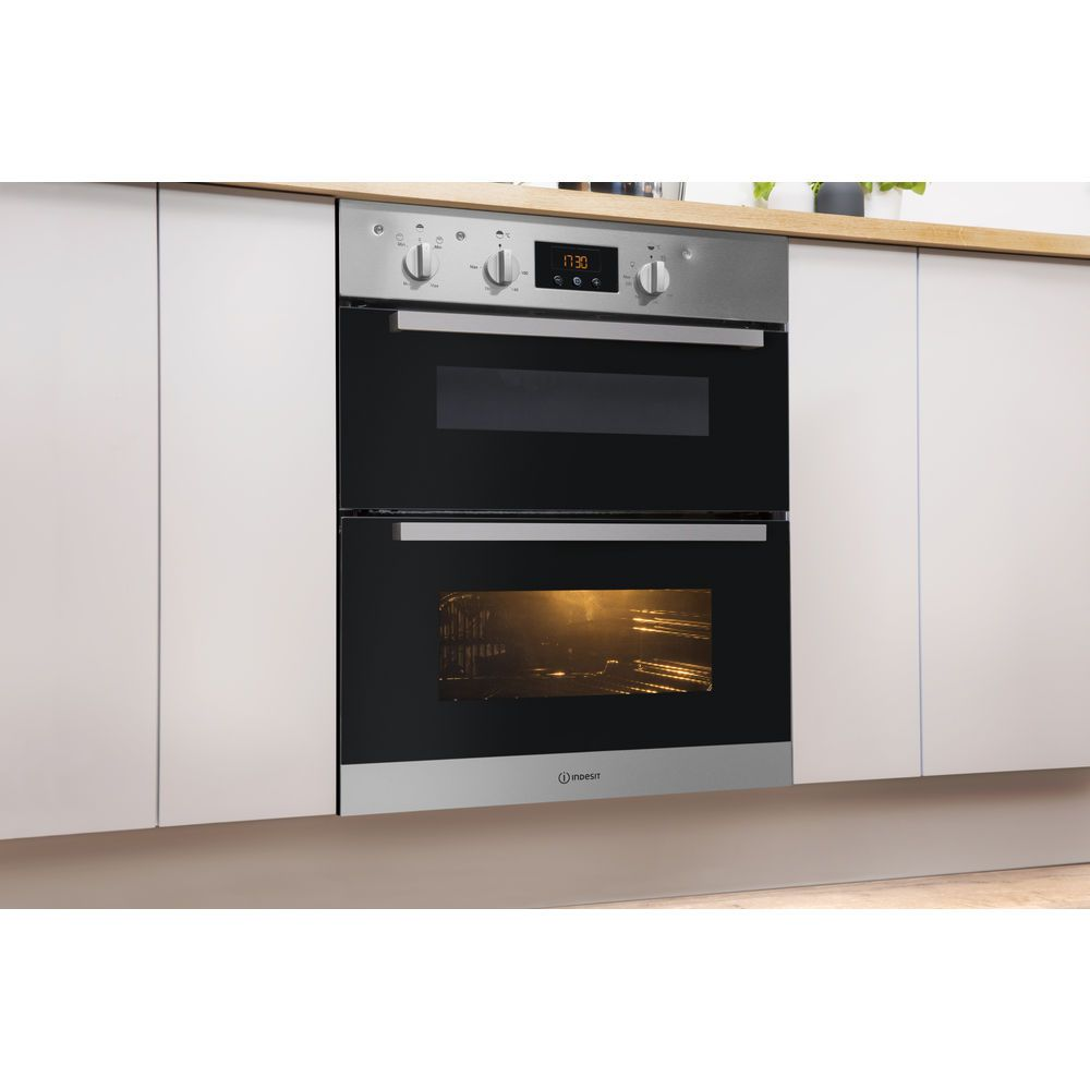 built in double oven electric idu 6340 ix. Black Bedroom Furniture Sets. Home Design Ideas
