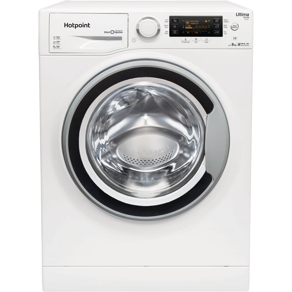 Hotpoint Ultima S-Line RPD 9467 JSW Washing Machine - White
