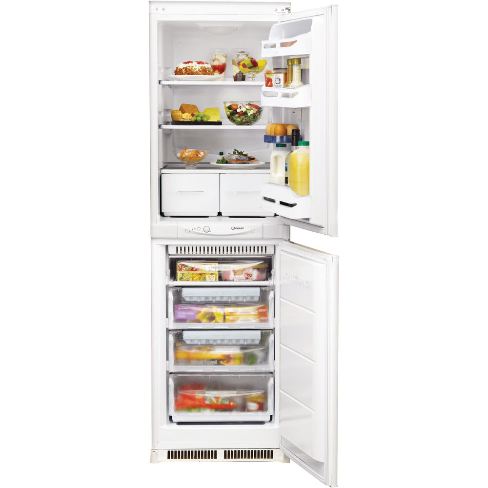 Indesit IN C 325 FF Integrated Fridge Freezer in White