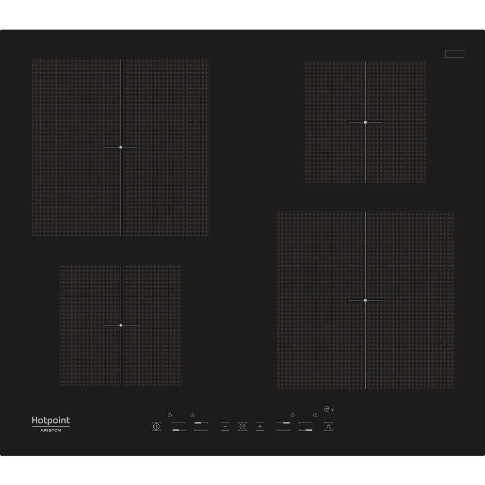 Piano cottura a induzione in vetroceramica Hotpoint - KIA 640 C ...
