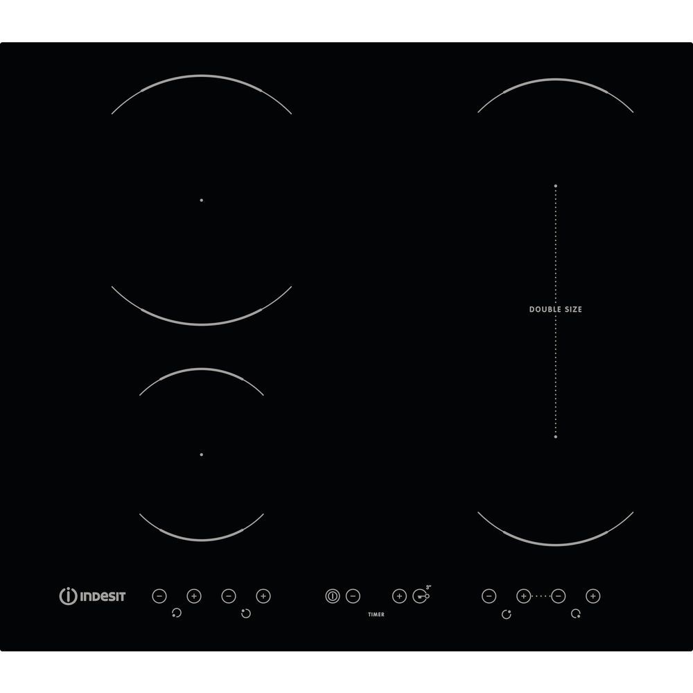 Indesit VID 641 B C Induction Hob in Black