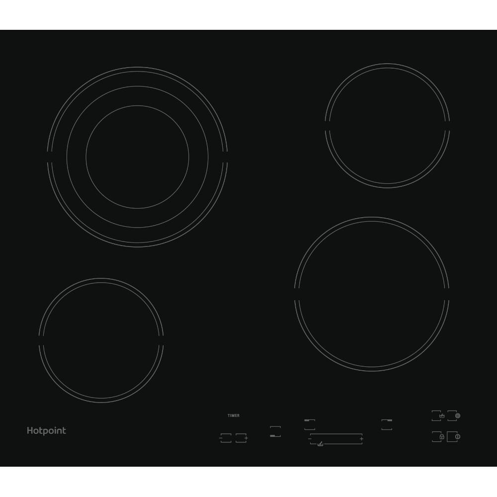 Hotpoint HR 607 BH Ceramic Hob - Black