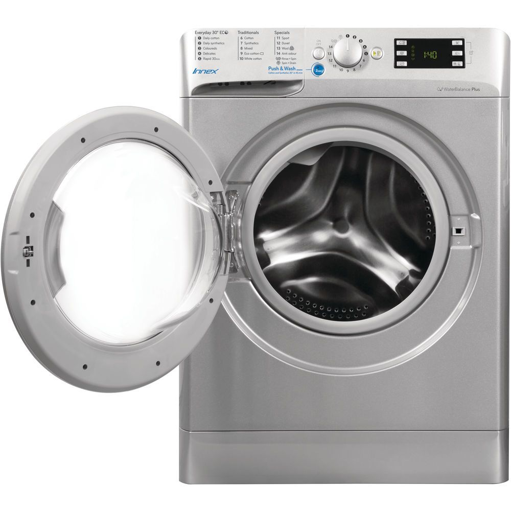 Indesit Innex BWE 91484X S Washing Machine in Silver - BWE 91484X S UK