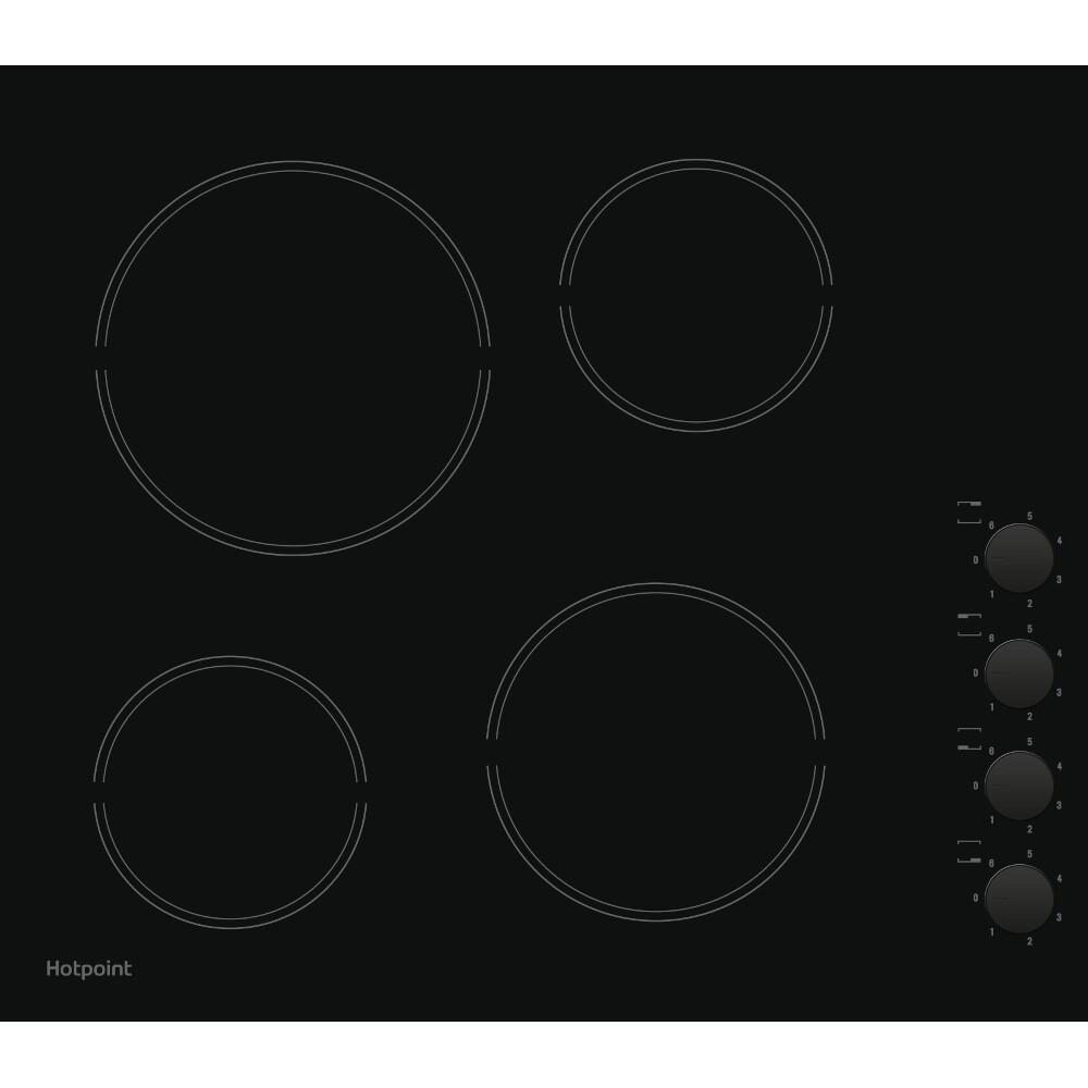 Hotpoint HR 619 CH Hob - Black