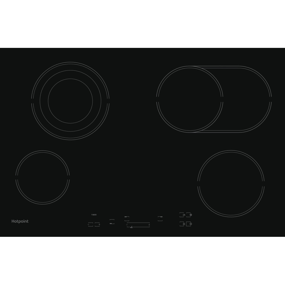 Hotpoint HR 7011 B H Ceramic hob - Black