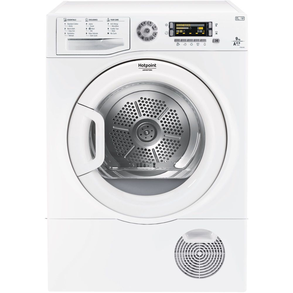 Hotpoint Ultima S-Line FTCD 972 6PM1 Tumble Dryer - White