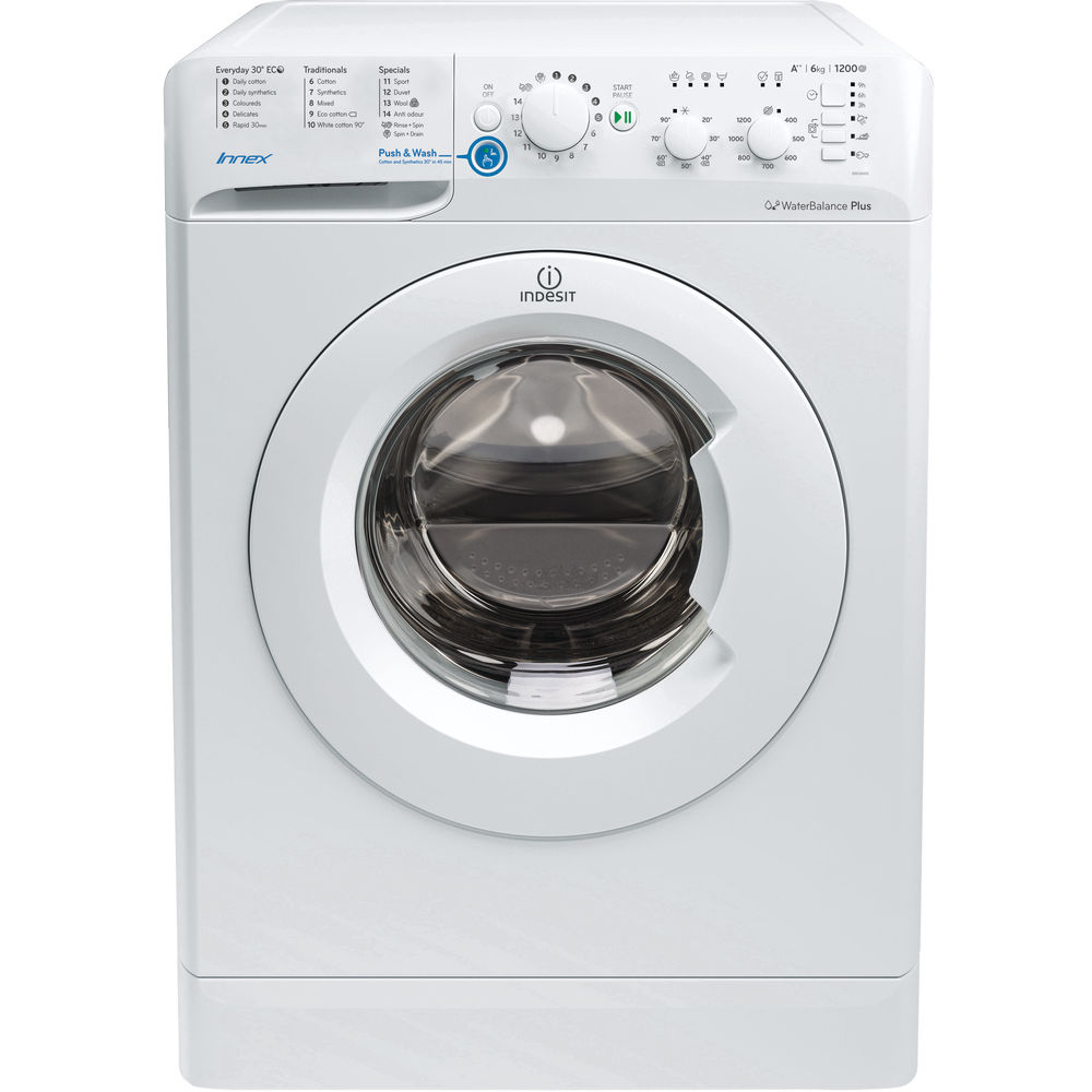 Indesit Innex BWC 61452 W Washing Machine in White