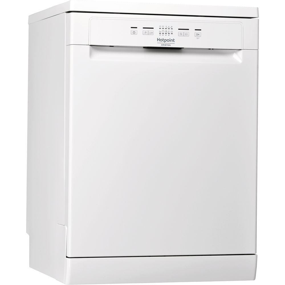 Посудомоечная машина Hotpoint: полноразмерная, белый цвет