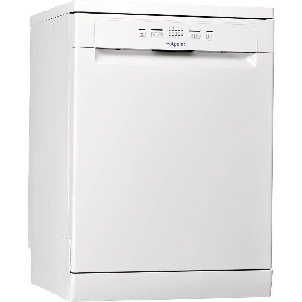 Hotpoint dishwasher: full size, white color