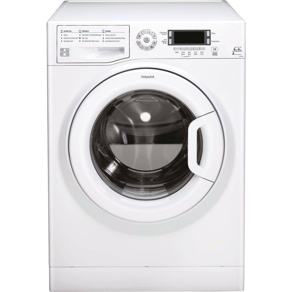 Hotpoint freestanding washer dryer: 9kg
