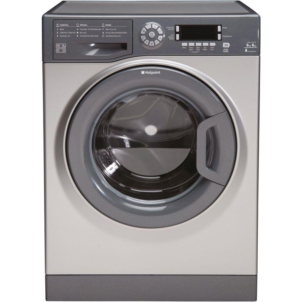 Hotpoint Ultima FDD 9640 G Washer Dryer - Graphite
