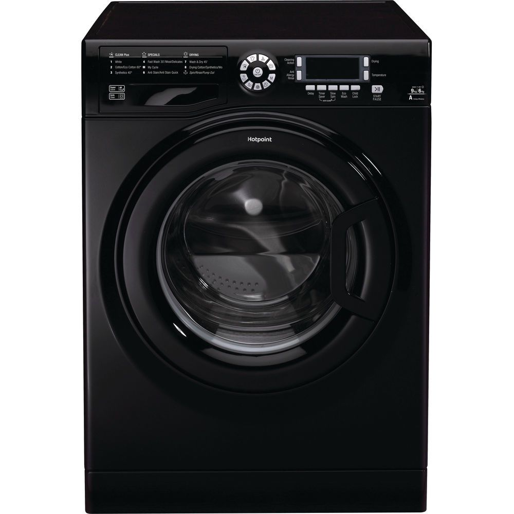 Hotpoint Ultima FDD 9640 K Washer Dryer - Black