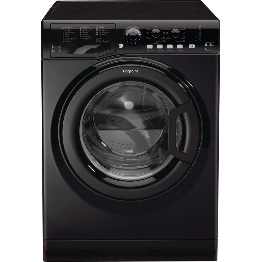 Hotpoint Futura FDL 9640K washer dryer - Black