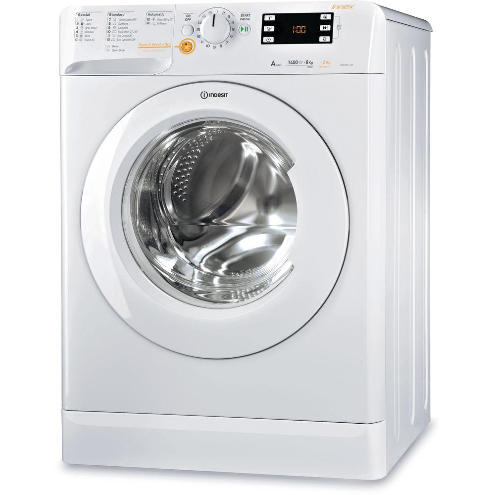 Indesit Innex XWDE 861480X W Washer Dryer - White
