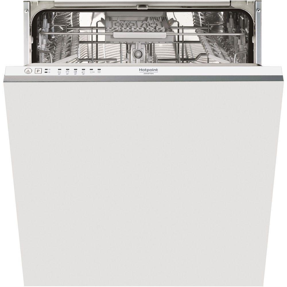 Lavastoviglie da incasso Hotpoint: grande capacità di carico, colore bianco