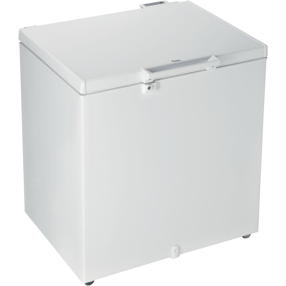 Congelatore a pozzetto a libera installazione Hotpoint: colore bianco
