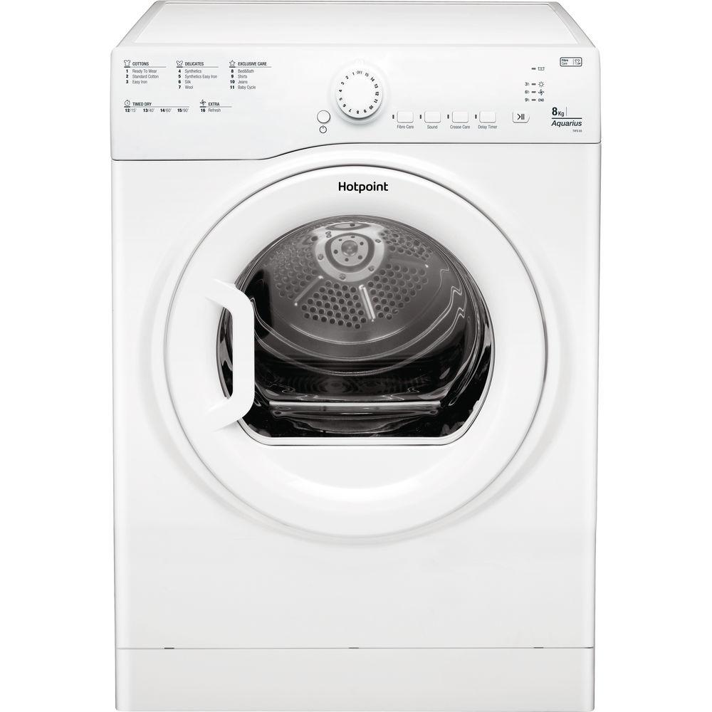 Hotpoint Aquarius TVFS 83B GP.9 Tumble Dryer - White