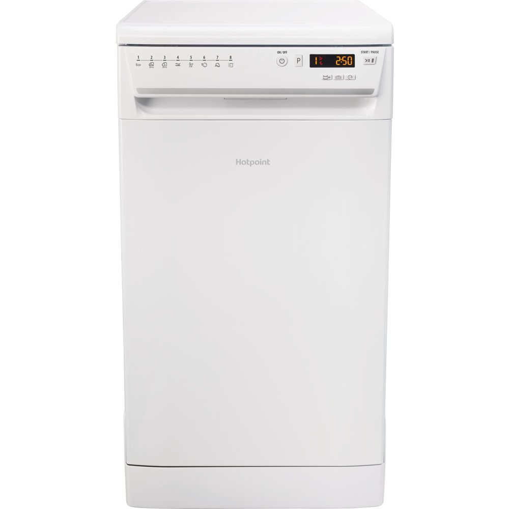 Hotpoint Care Plus Slim LSFF 8M126 Dishwasher - White