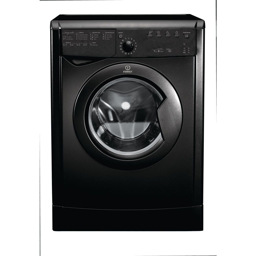 Indesit Ecotime IDVL 75 B R K.9 Tumble Dryer in Black