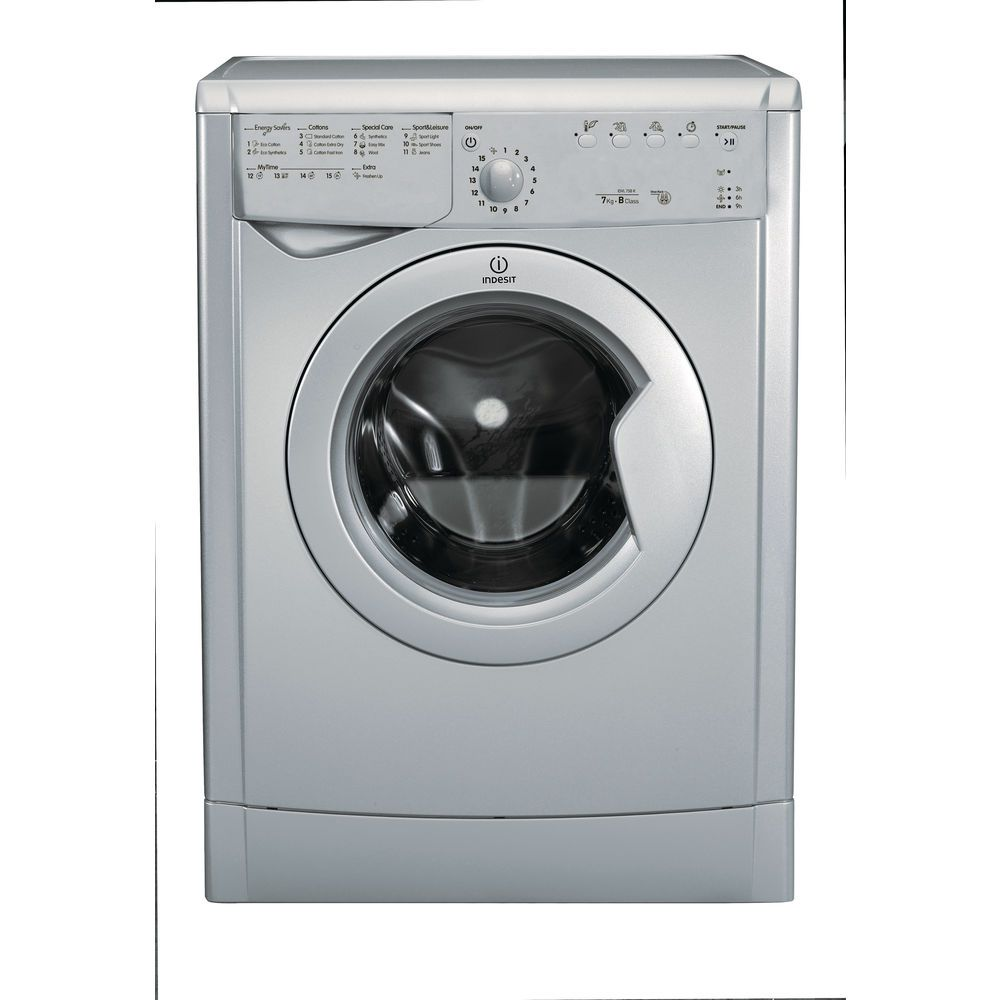 Indesit Ecotime IDVL 75 B R S.9 Tumble Dryer in Silver